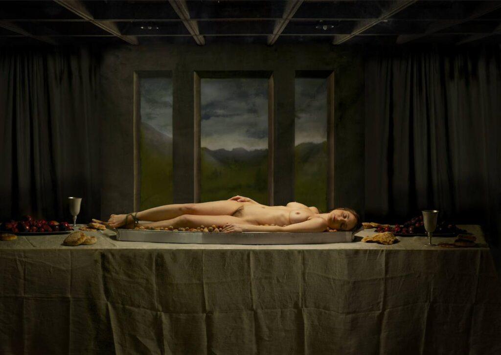 Niccola Constantino, The Dinner, nº 1, 2008. Colección MAS